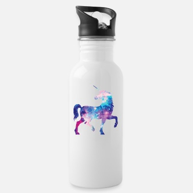 Unicorn with constellation design - Water Bottle