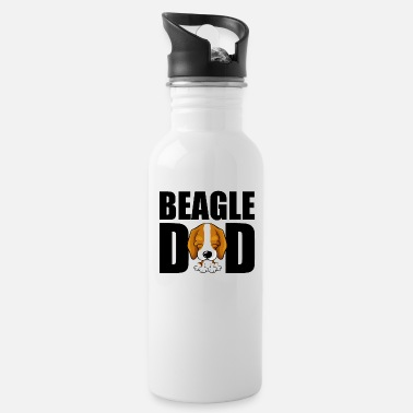 Dad Beagle Dad Cartoon Dog Dog Dad Dad - Drikkedunk
