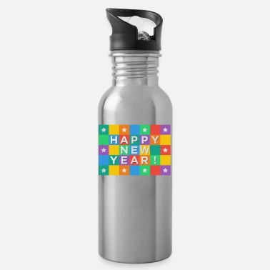 New Year's Day New Years Eve, New Year, New Year's Day, gift - Water Bottle