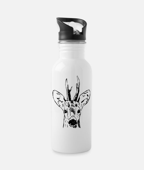 Stag Mugs & Drinkware - Ree - Water Bottle white