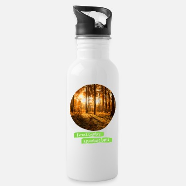 Personalised Forest Adventure Photo Graphic Design - Water Bottle