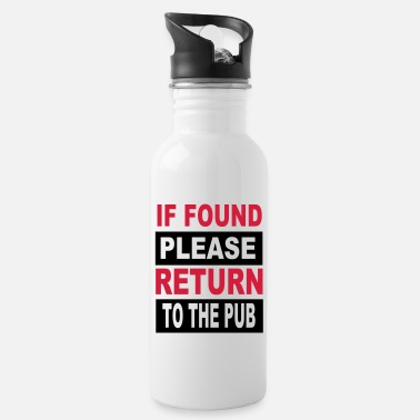 Pub Alcohol - pub - Water Bottle