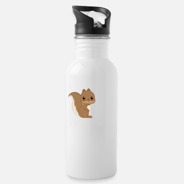 Squirrel Squirrel - squirrel fan - squirrel - Water Bottle