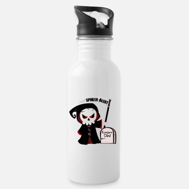 Spoiler Alert Everyone Spoiler Alert, everyone dies | Godfather death monster - Water Bottle