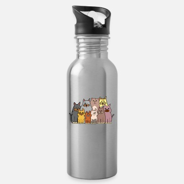 Every life beautiful cats love gift kittens - Water Bottle