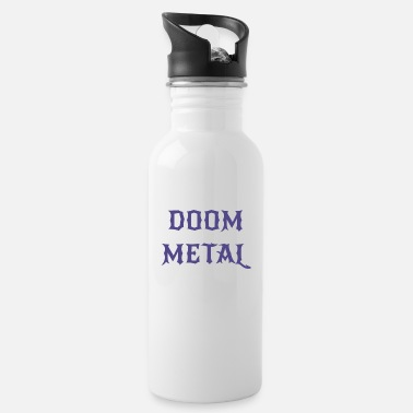 Doom Doom metal - Water Bottle
