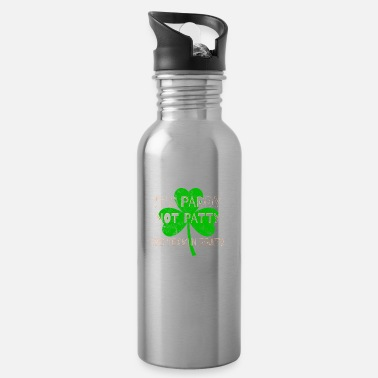 Feckin Feckin Eejit Distressed for St Paddy's Day - Water Bottle