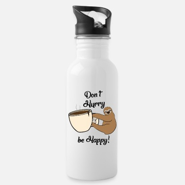 Pause Funny sloth gift for chilling kawaii lazy - Water Bottle