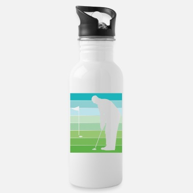 Golf Clubs Golf golfer gift golf club golf clubs - Water Bottle