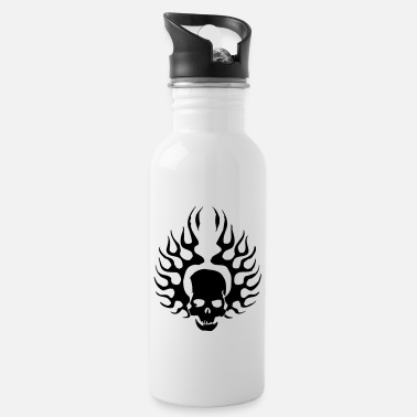 Burning Skull - Water Bottle