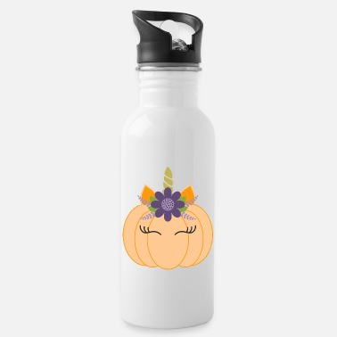 Costume-garb Unicorn Pumpkin Crazy 2020 - Water Bottle