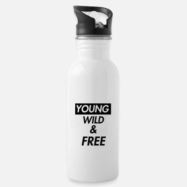 Young Wild And Free young wild and free - Water Bottle