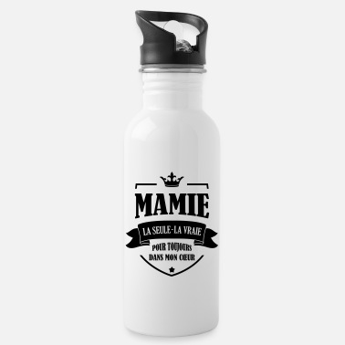 Grand Parents Mamie Mamy Grand-Mère Grand Mere Grands Parents - Water Bottle