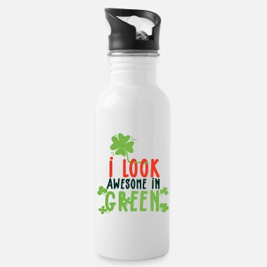 Drinks Green from Ireland suits me - Water Bottle