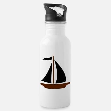 Sail Boat Sailing Boat - Water Bottle