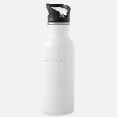 Twowheels SHAPING DISABILITY MEDIA (BRAILLE) - Water Bottle