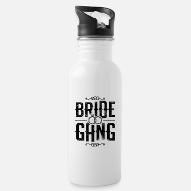 Gangster Bride Gang Team Braut - Trinkflasche