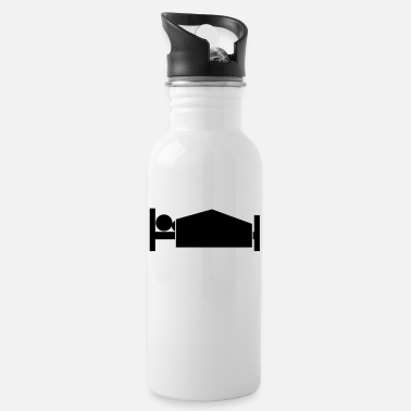 Parody Humorous Comedy Entertaining morning wood - Water Bottle