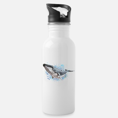 Sjo Humpback Whale - Water Bottle