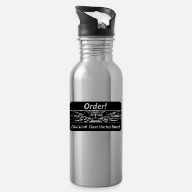 Order! Division! Clear the lobbies UK - Water Bottle
