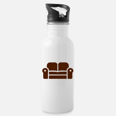 Couch couch - Water Bottle