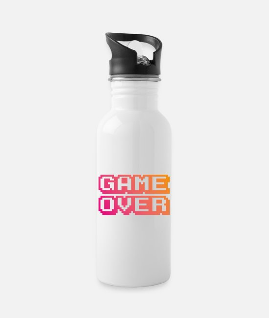 Game Over Tazas y accesorios - Game Over - Cantimplora blanco