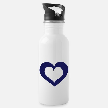 Tlc Heart Love - Trinkflasche
