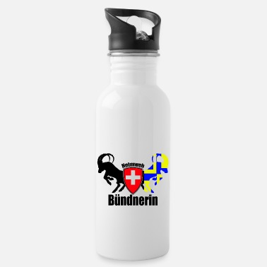 Grisons homesick from Grisons - Water Bottle