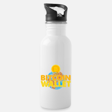 Mining Bitcoin, BTC and Crypto, Money - Water Bottle