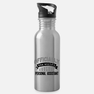 Official-person personal assistant officially the worlds - Water Bottle