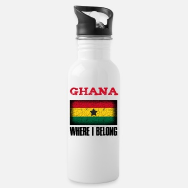 Kumasi Ghana Where I Belong | Accra Kumasi gift idea - Water Bottle