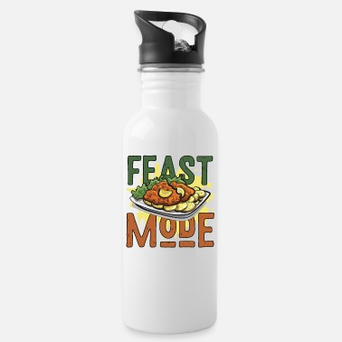 Feast Day Feast mode feast holiday - Water Bottle