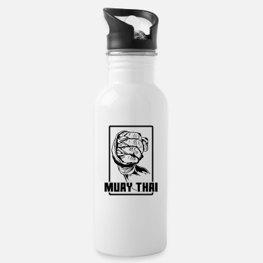 Kick Muay Thai fist - Water Bottle