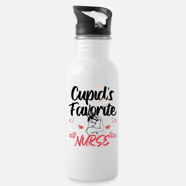 Favorite Nurse Cupid's Favorite Nurse - Water Bottle