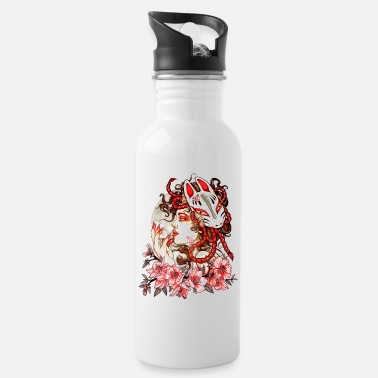 Woman Manga Oni Fox - Water Bottle