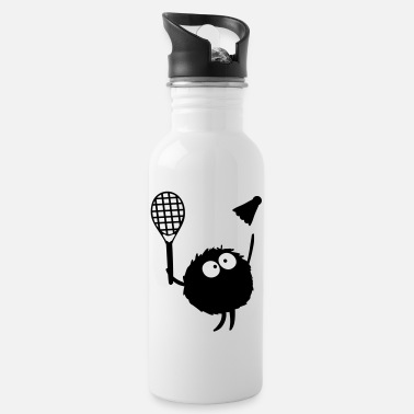 Play Badminton Players cc2 - Water Bottle