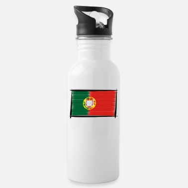 Coolcups Art Flagge Portugal - Trinkflasche