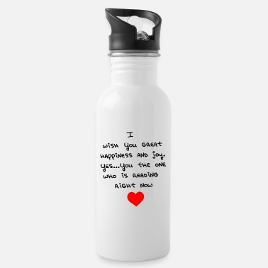 Wish You WISH YOU THE BEST - Water Bottle