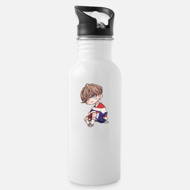 Taehyung Chibi Taehyung sitting - Water Bottle