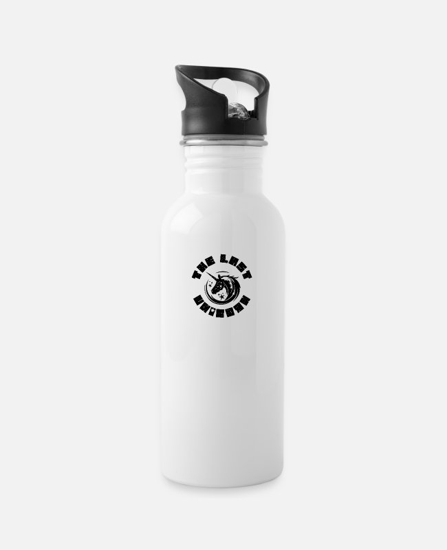 Carnival Mugs & Drinkware - The Last Unicorn Costume Carnival Mythical Creature - Water Bottle white