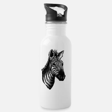 Illustration Zebra Illustration - Drinkfles