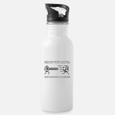 Sexual Innuendo Screw mother's sexual allusion gift - Water Bottle