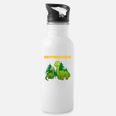 Brotherasurus Siblings brother Brothersaurus I gift - Water Bottle