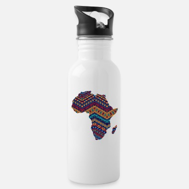 Rasta Africa Safari Rasta Africa fan Africa lover - Water Bottle