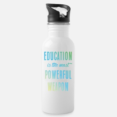 Education Culture Education || education - Water Bottle