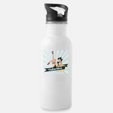 Retro Underwear sexy chief secretary secretary retro gift woman - Water Bottle