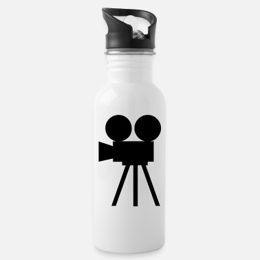 Cameraman Camera - film - cameraman - Water Bottle