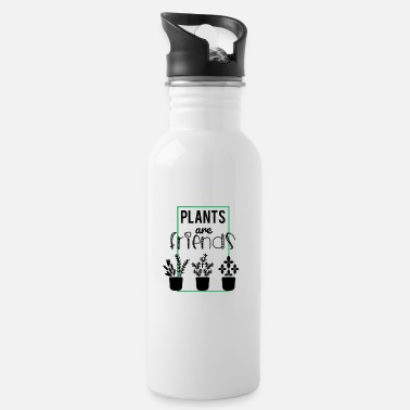 Plant-grounds Plants are friends - plants are friends - Water Bottle
