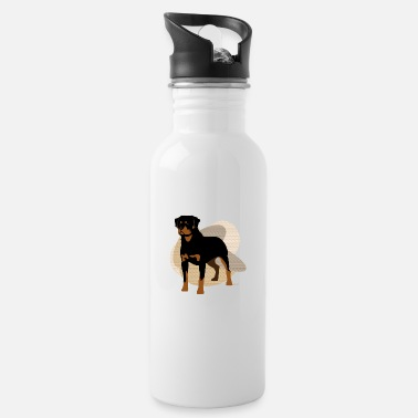 Ixco Dogs Collection by IxCÖ #Rottweiler - Water Bottle