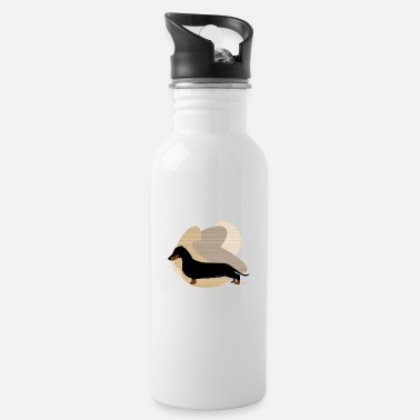 Ixco Dogs Collection by IxCÖ #Daschund - Water Bottle